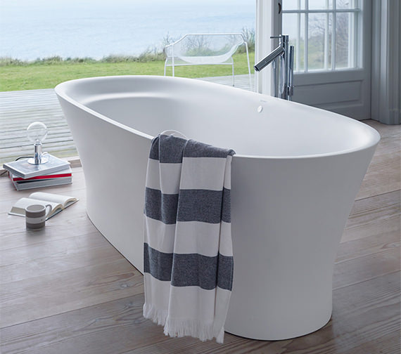 Duravit Cape Cod 1855 x 885mm Freestanding Bath