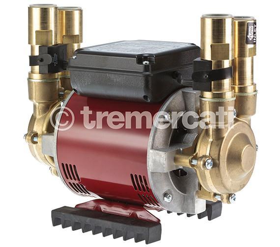Tre Mercati Amazon STN-2.0 B Positive Twin Brass Shower Pump