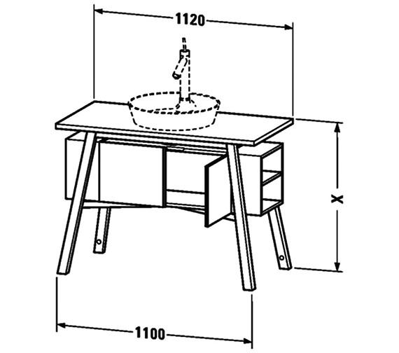 Technical drawing QS-V63322 / CC953308585
