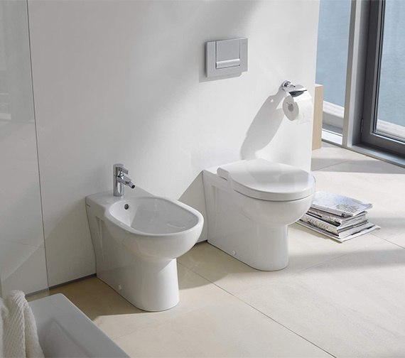 Duravit Bathroom Foster 570mm Floor Standing Bidet