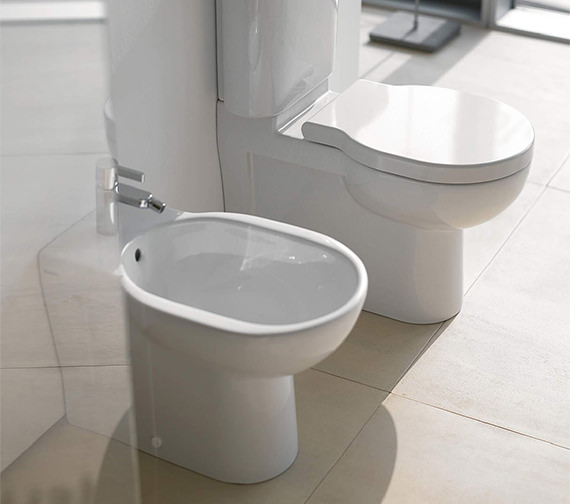 duravit bathroom foster 570mm floor standing bidet. Black Bedroom Furniture Sets. Home Design Ideas