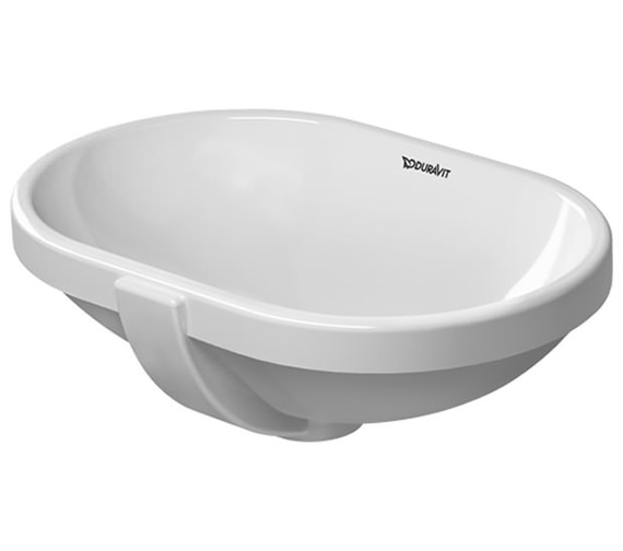 Duravit Bathroom Foster 430mm Undercounter Vanity Basin
