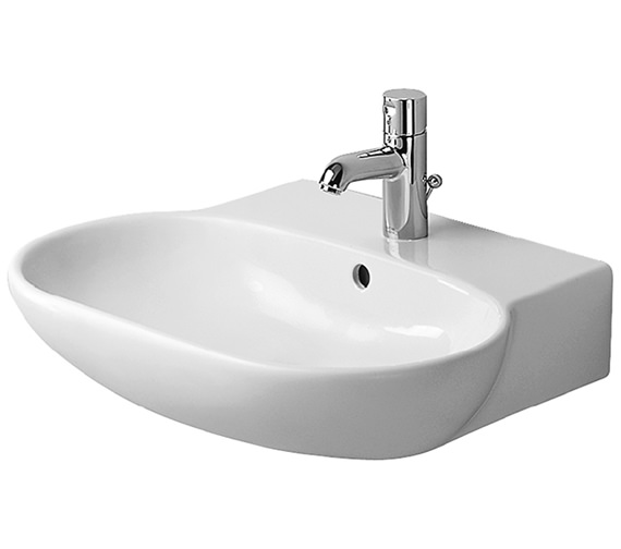Duravit Bathroom Foster 700 x 540mm 1 Tap Hole Washbasin