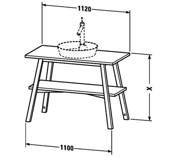 Technical drawing QS-V63321 / CC953208181