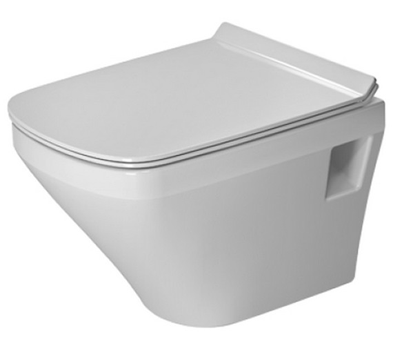 Duravit DuraStyle 480mm Wall Mounted Compact Rimless Toilet