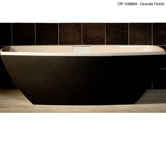 Carron Celsius Freestanding Carronite Bath White 1900 x 900mm