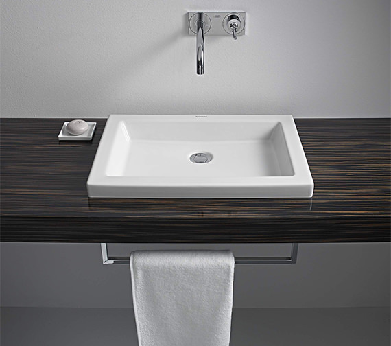 Duravit 2nd Floor 580 x 415mm Washbasin
