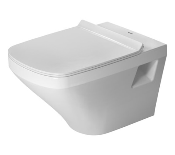 Duravit DuraStyle 370 x 540mm Wall Mounted Washdown Rimless Toilet