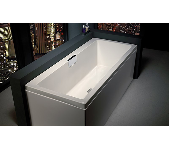 Carron Celsius Single Ended Carronite Bath 1700 x 700mm - Right Hand