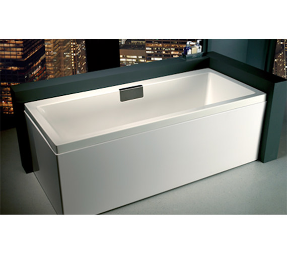 Additional image of Carron Celsius Single Ended Carronite Bath 1700 x 700mm - Right Hand