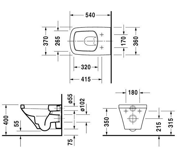 Technical drawing QS-V24918 / 2536090000