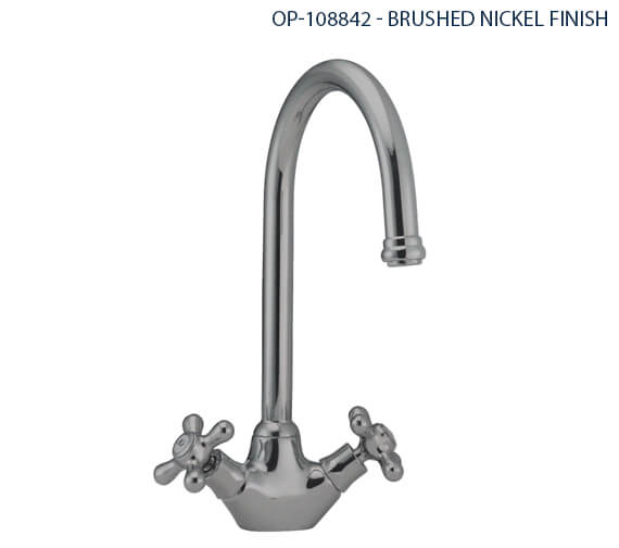 Additional image of Deva Venetian Mono Kitchen Sink Mixer Tap Chrome - SM057