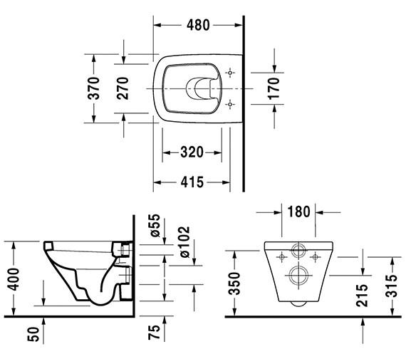 Technical drawing QS-V24921 / 2539090000