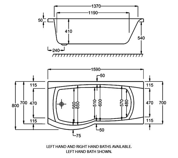 Technical drawing QS-V34542 / Q4-02071