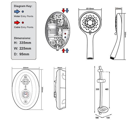 Technical drawing QS-V20409 / SP8I49SI