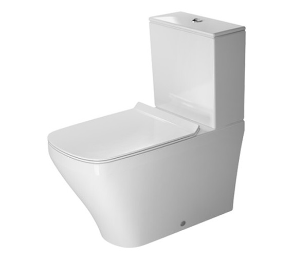 Duravit DuraStyle 370 x 700mm Close Coupled Washdown Toilet With Cistern