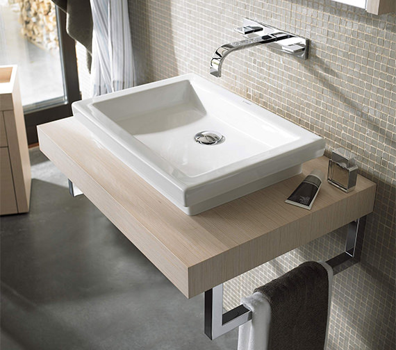 Duravit 2nd Floor 580 x 415mm Ground Countertop Wash Bowl