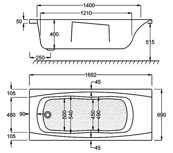 Technical drawing QS-V34766 / Q4-02114