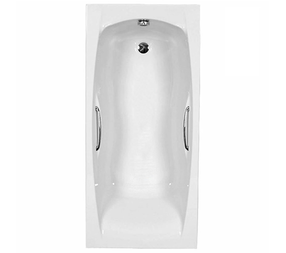 Carron Imperial Twin Grip Single Ended 5mm Acrylic Bath 1800 x 750mm