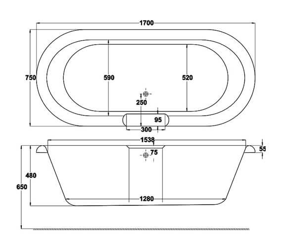 Technical drawing QS-V34535 / Q4-02024