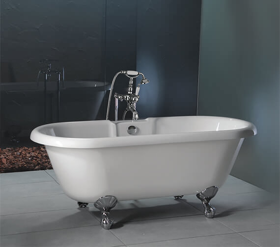 Carron Ascoli 5mm Acrylic Freestanding Bath With Legs 1700 x 750mm