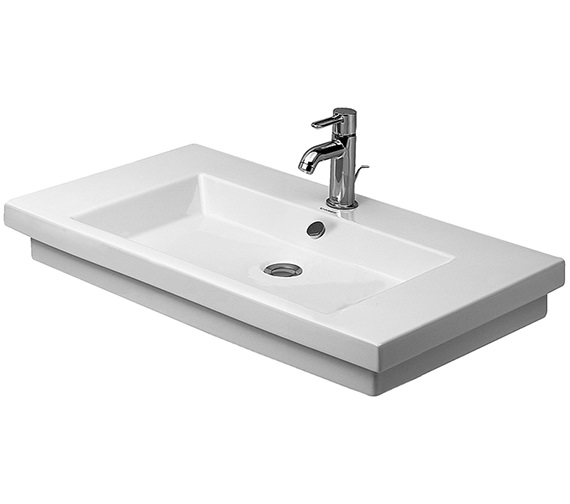 Duravit 2nd Floor 800 x 500mm Washbasin