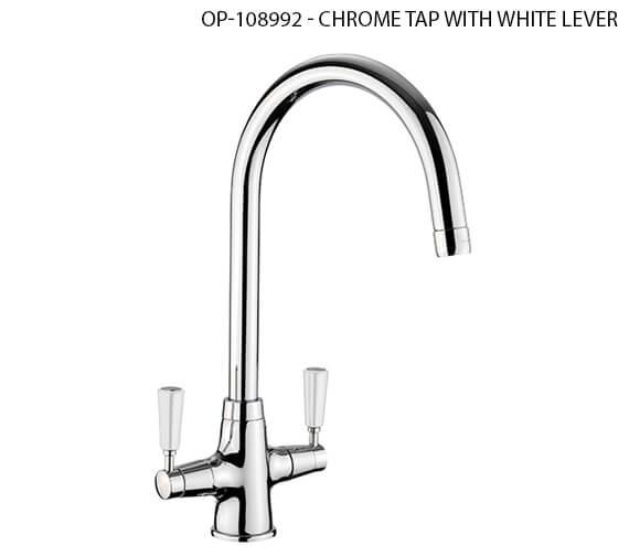 Alternate image of Rangemaster Aquaclassic 2 Monobloc Chrome Kitchen Sink Mixer Tap