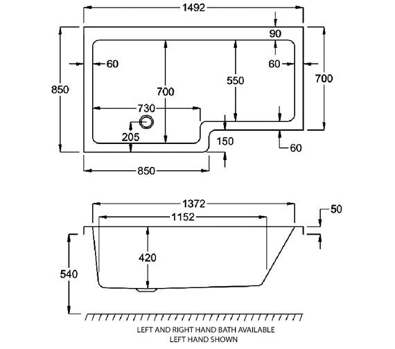 Technical drawing QS-V39536 / Q4-02173