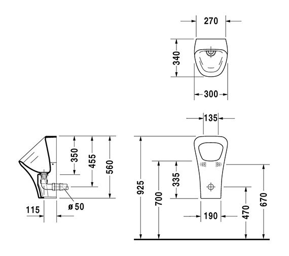 Technical drawing QS-V24917 / 2808300000