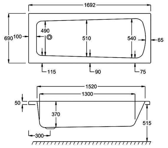 Technical drawing QS-V34577 / Q4-02043