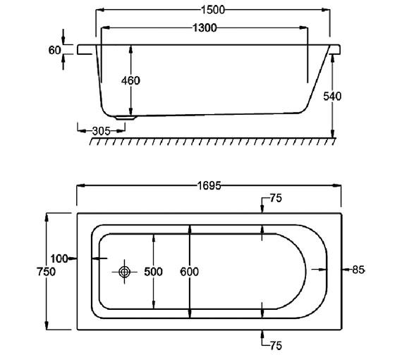 Technical drawing QS-V34537 / Q4-02045