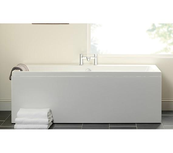 Carron Quantum Double Ended Acrylic Bath 5mm - 1700 x 750mm