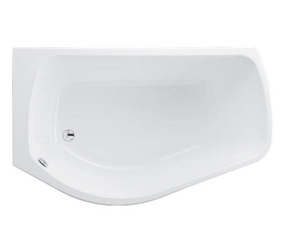 Additional image of Carron Profile Acrylic Shower Bath - 5mm - 1500 x 900mm