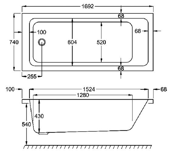 Technical drawing QS-V38480 / Q4-02147
