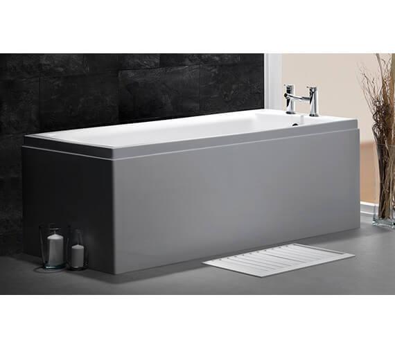 Carron Quantum Modern 5mm Acrylic Single Ended Bath 1500 x 700mm