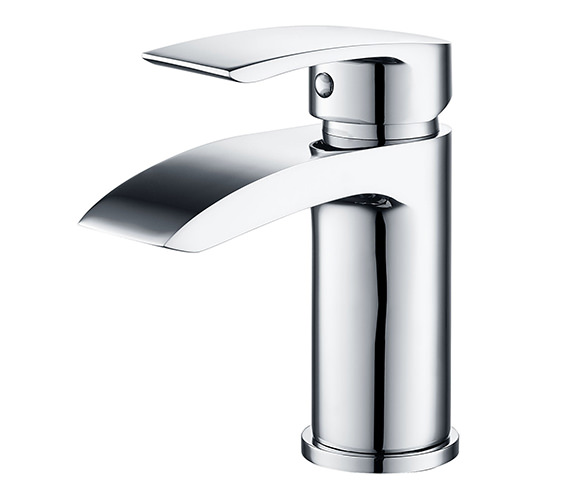 Mayfair Slide Mono Basin Mixer Tap Chrome With Click Clack Waste