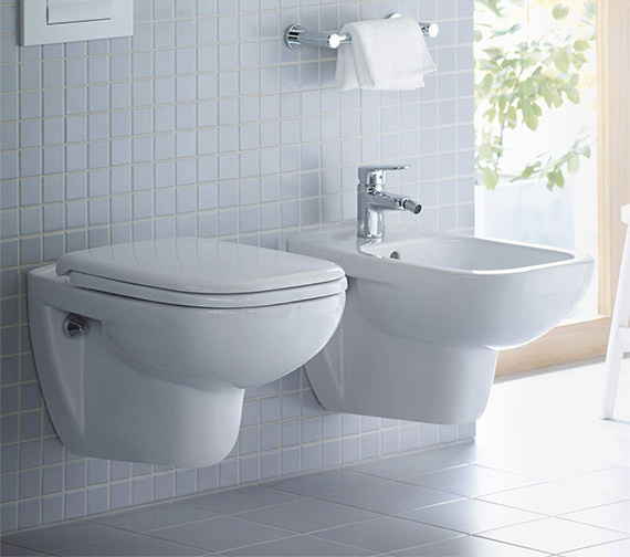 Duravit D Code 545mm Wall Mounted Toilet 25350900002