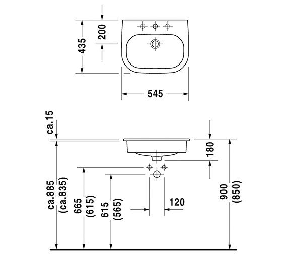 Technical drawing QS-V49416 / 0337540000
