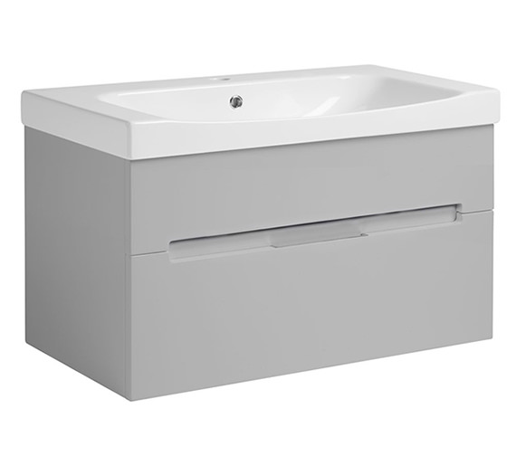 Alternate image of Roper Rhodes Diverge Wall Mounted Vanity Unit