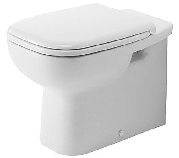 Duravit D Code 560mm Floor Standing Back To Wall Toilet