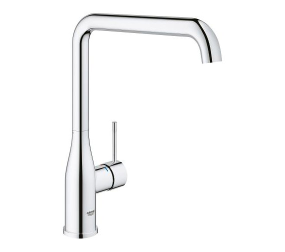 Grohe Essence Plus Single Lever L-Spout Sink Mixer Tap