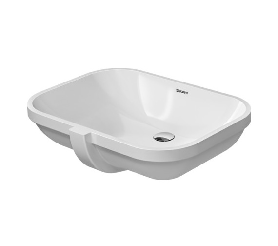 Additional image of Duravit D-Code 495mm Undercounter Vanity Basin