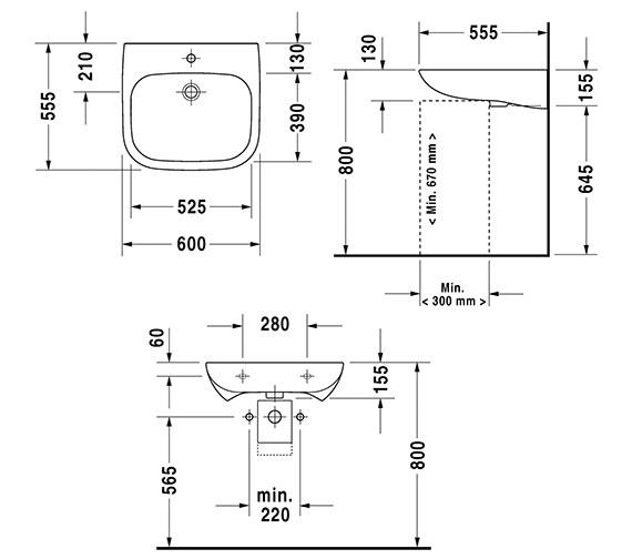 Technical drawing QS-V14492 / 23136000702
