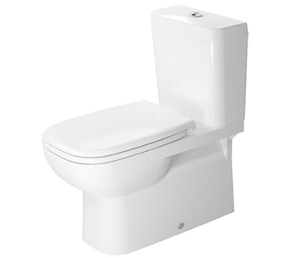 Duravit D-Code 695mm Close Coupled Toilet