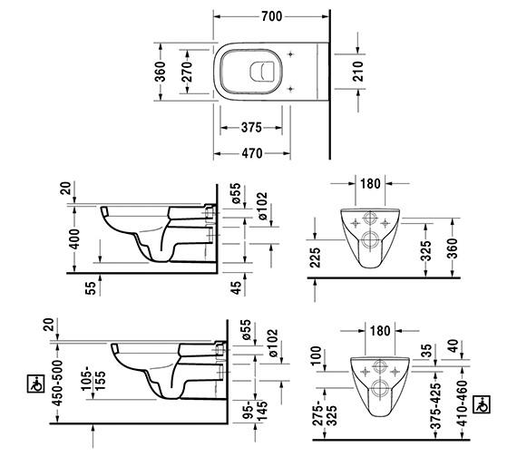 Technical drawing QS-V14497 / 22280900002