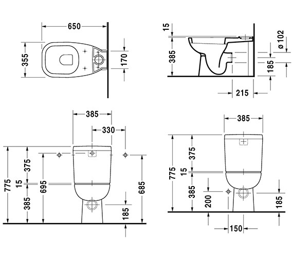 Technical drawing QS-V49432 / 21180900002