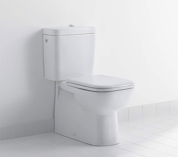 Duravit D-Code 650mm Close Coupled Toilet