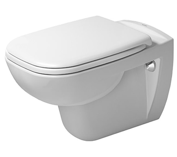 Duravit D-Code 545mm Wall Mounted Rimless Toilet