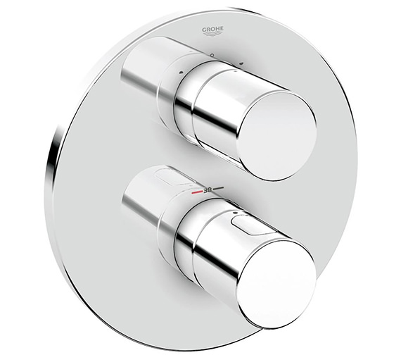 Grohe Grohtherm 3000 Cosmopolitan Thermostat With 2 Way Diverter Chrome