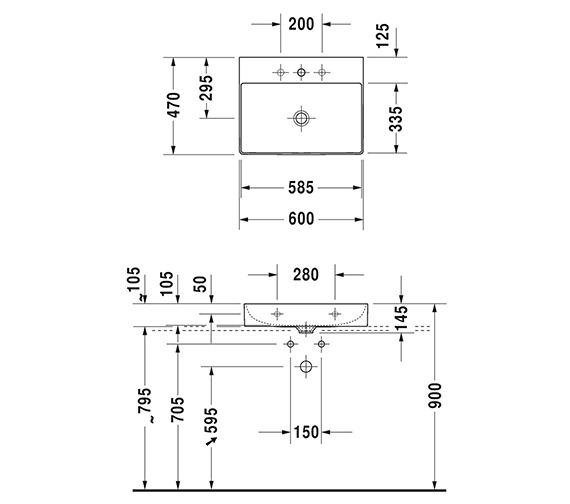 Technical drawing QS-V33569 / 2353500071